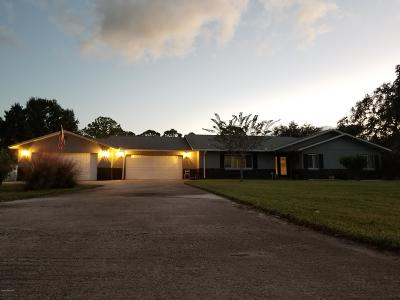 Cocoa Single Family Home For Sale: 4949 Hidden Pine Place