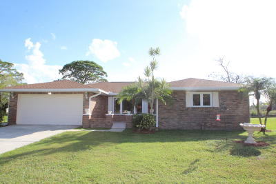 Palm Bay Single Family Home For Sale: 868 Port Malabar Boulevard NE