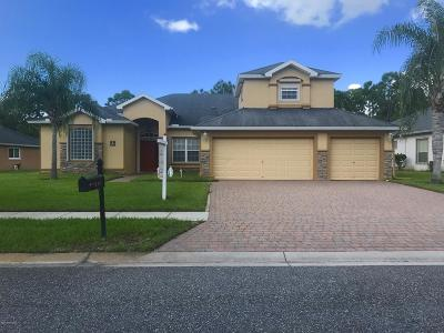 Palm Bay Single Family Home Backups: 407 Easton Forest Circle SE