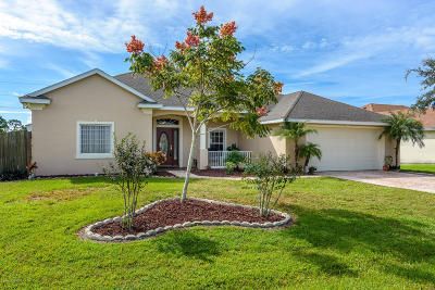 Palm Bay Single Family Home For Sale: 712 Campbell Street SE