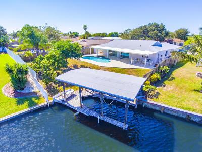 Merritt Island Single Family Home For Sale: 2165 Porpoise Street