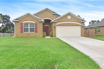 Palm Bay Single Family Home For Sale: 377 Rheine Road NW