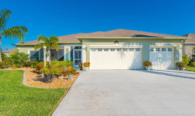 Rockledge Single Family Home For Sale: 5296 Indigo Crossing Drive