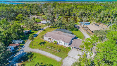 Mims Single Family Home For Sale: 1200 Lake Harney Woods Boulevard