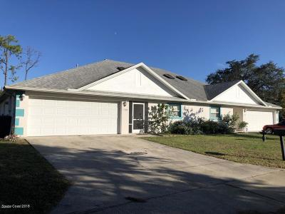 Titusville Multi Family Home For Sale: 1547 Harrison Street
