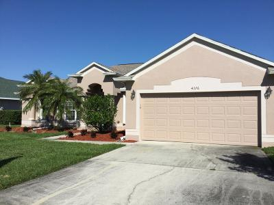 Titusville Single Family Home For Sale: 4376 Fletcher Lane