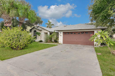 Cape Canaveral Single Family Home For Sale: 308 Surf Drive