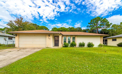 Rockledge Single Family Home For Sale: 958 Pineland Drive