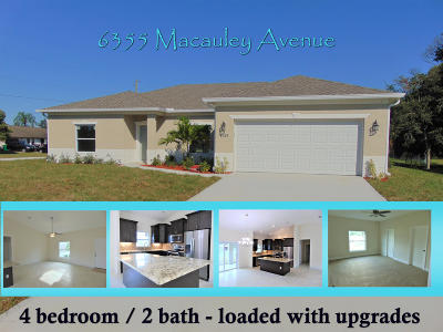 Cocoa Single Family Home For Sale: 6547 Banyan Street
