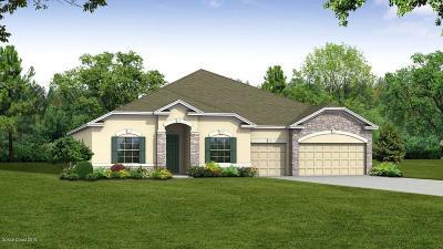 Merritt Island Single Family Home For Sale: 5030 Hebron Drive