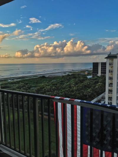 Cocoa Beach Condo For Sale: 1830 N Atlantic Avenue #805
