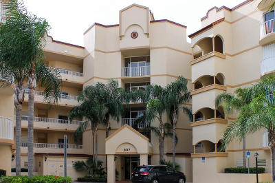 Cape Canaveral Condo For Sale: 807 Mystic Drive #208
