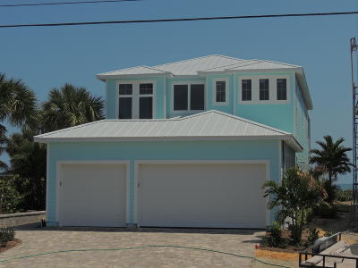 Cocoa Beach Single Family Home For Sale: 229 S Atlantic Avenue