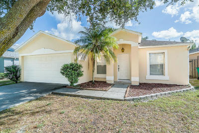 Melbourne Single Family Home For Sale: 6985 Hammock Trace Drive