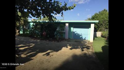 Cocoa Beach FL Single Family Home For Sale: $389,900