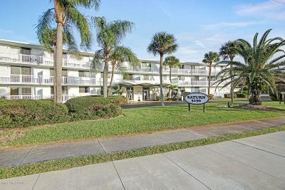 Cocoa Beach Condo For Sale: 3190 N Atlantic Avenue #102