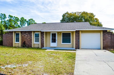Cocoa Single Family Home For Sale: 2982 Barkway Drive