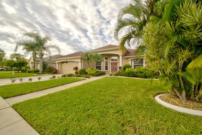 Rockledge Single Family Home For Sale: 2615 Canterbury Circle