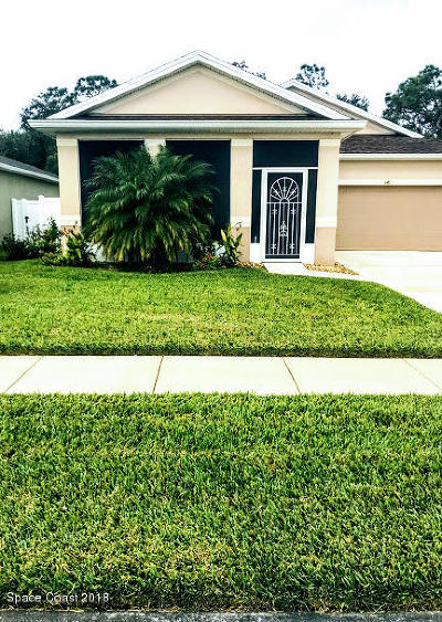 Sebastian Single Family Home For Sale: 148 Port Royal Court