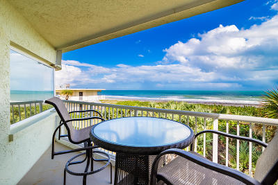 Cocoa Beach Condo For Sale: 3031 S Atlantic Avenue #203