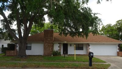Titusville Single Family Home For Sale: 1735 Apricot Drive