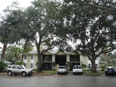 Titusville Condo For Sale: 3600 Sable Palm Lane #D