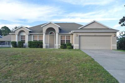 Cocoa Single Family Home For Sale: 6340 Dearman Street