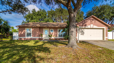 Cocoa Single Family Home For Sale: 3400 Craggy Bluff Place