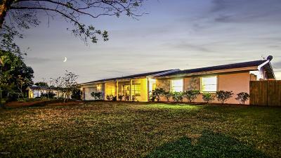 Melbourne, Melbourne Village, West Melbourne Single Family Home For Sale: 7624 Northern Oak Street