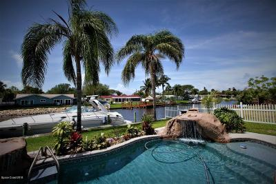Cocoa Beach FL Single Family Home For Sale: $890,000