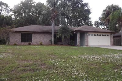 Palm Bay Single Family Home For Sale: 1598 Alpha Street NE