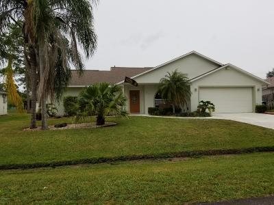 Palm Bay FL Single Family Home For Sale: $224,900