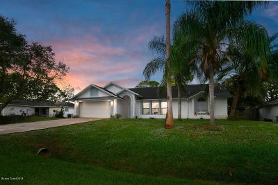 Palm Bay FL Single Family Home For Sale: $199,000