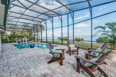 Merritt Island Single Family Home For Sale: 4070 S Tropical Trl