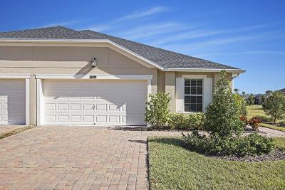 Melbourne, Melbourne Village, West Melbourne Half Duplex For Sale: 3466 Bancroft Drive