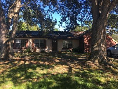 Palm Bay Single Family Home For Sale: 1395 Tufts Court NE