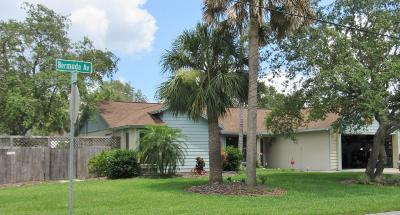 Cocoa Single Family Home For Sale: 6795 Bermuda Avenue