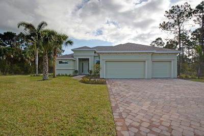 Melbourne FL Single Family Home For Sale: $598,000