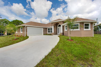 Palm Bay Single Family Home For Sale: 2299 Jupiter Boulevard SW