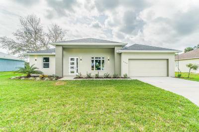 Brevard County Single Family Home For Sale: 3604 SE Jupiter Boulevard SE