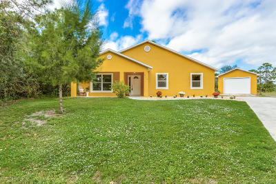 Palm Bay Single Family Home For Sale: 200 Germany Avenue SW