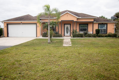 Cocoa Single Family Home For Sale: 5265 Cangro Street