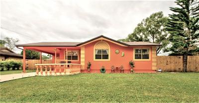 Palm Bay Single Family Home For Sale: 1690 Sardinia Street SE