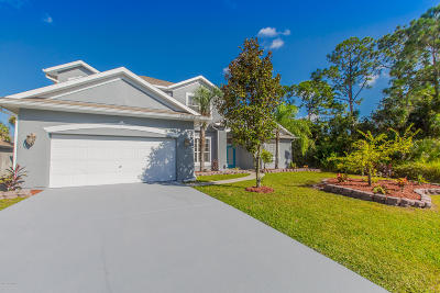Palm Bay FL Single Family Home For Sale: $315,000
