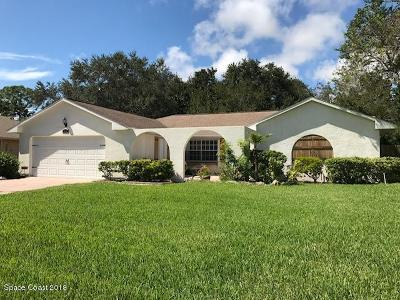 Melbourne FL Single Family Home For Sale: $319,900