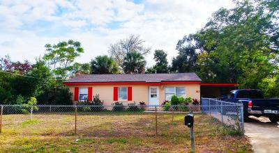 Brevard County Single Family Home For Sale: 183 Roosevelt Street