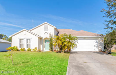 Palm Bay FL Single Family Home For Sale: $199,850