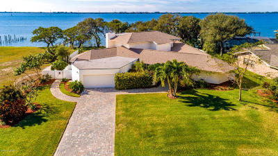 Melbourne Beach Single Family Home For Sale: 2160 S River Road