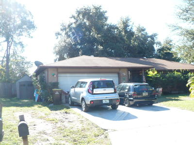 Palm Bay Multi Family Home For Sale: 1172 Mustang Street SE