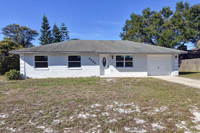Cocoa Single Family Home Backups: 6880 Bryant Road